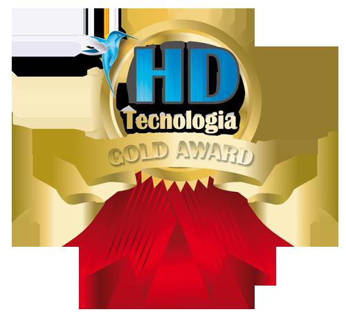 premio de oro hd tecnologia