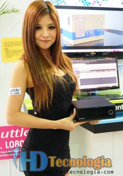 Sexy Booth Babes Computex 2012
