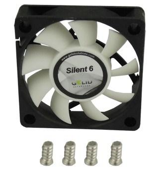 [Noticia] Nuevos ventiladores Gelid Silent 5 y Silent 6