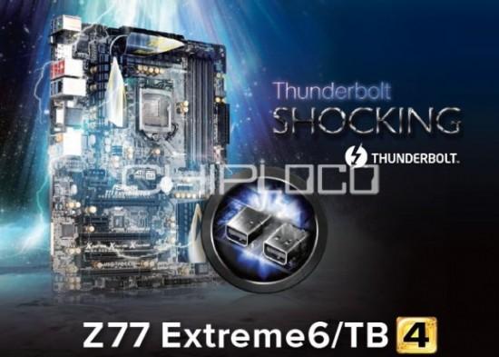 Asrock Z77 Extreme6/TB4 detalles