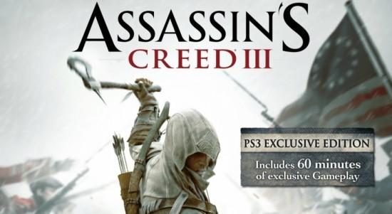 Assassin's Creed 3 para PS3 tendría una hora extra de juego