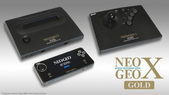 Neo Geo X Gold para diciembre