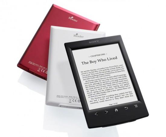 Sony anuncia el Reader PRS-T2