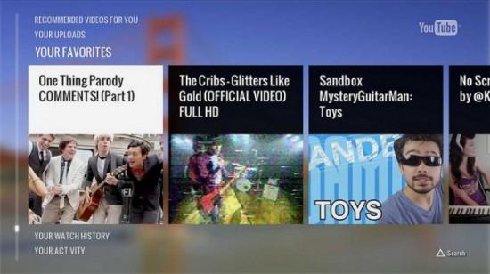 Youtube llega a la PS3