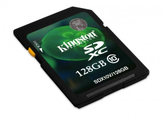 Kingston lanza las tarjetas SDXC de 128 Gbytes