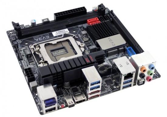 EVGA lanza oficialmente la placa EVGA Z77 Stinger mini-ITX