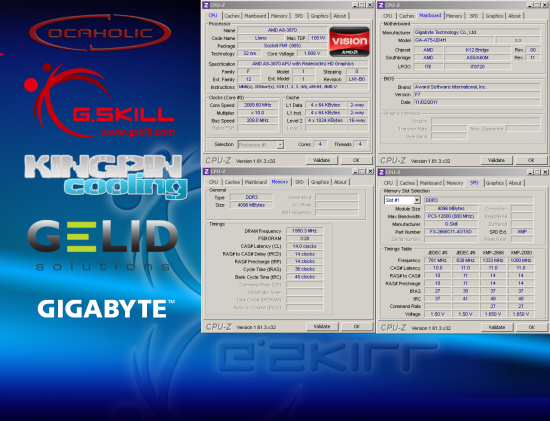 Récord de overclock en memorias RAM