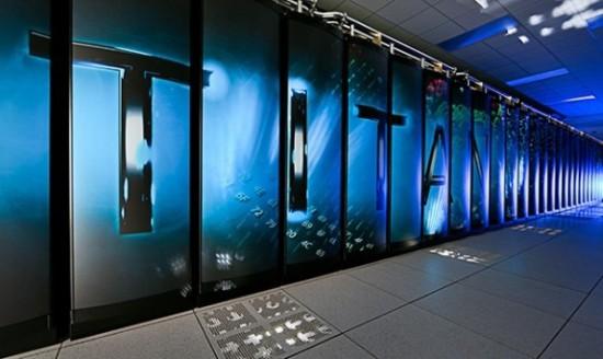 Supercomputador Titan es el numero uno