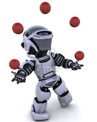 Un robot que hace malabares hd tecnolog a - Que hace un robot de cocina ...
