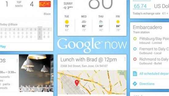 Google Now parece que se insertara a Chrome