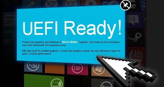 PowerColor acaba de anunciar sus tarjetas de video compatibles con UEFI