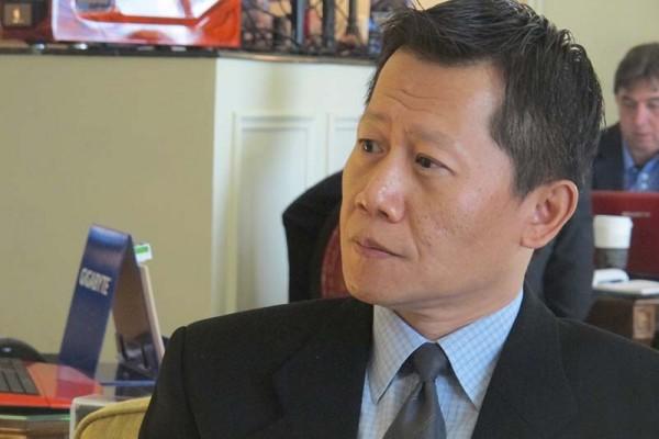 Charles Huang GIGABYTE en CES 2013