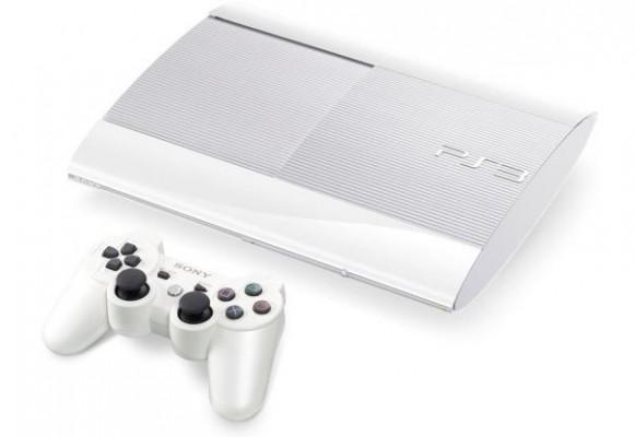 PS3 Super Slim Blanca