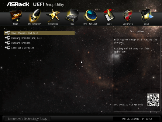 RAID motrado en el BIOS UEFI de ASRock