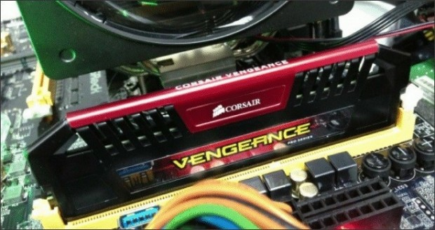 Corsair overclockea sus memorias Vengeance Pro DDR3-3200
