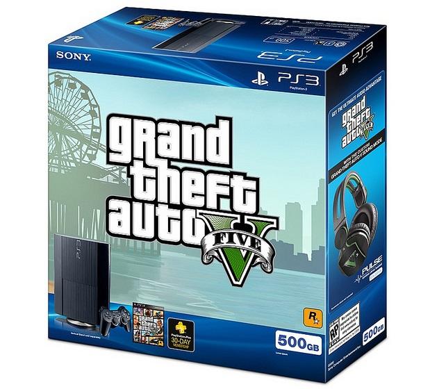 PS3 GTA V Bundle
