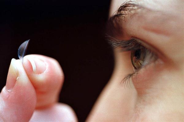 Lentes de contacto con visión telescópica