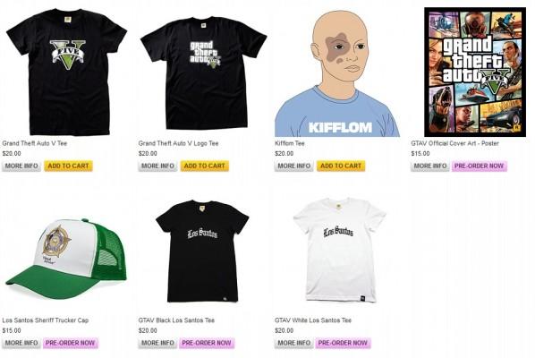Merchandising GTA 5