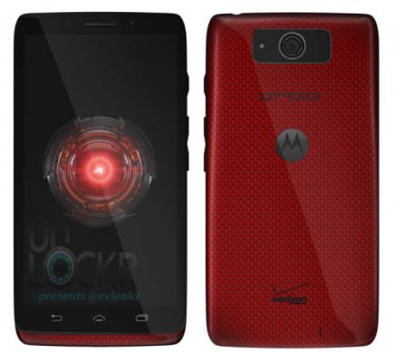 Motorola Droid Ultra filtrado en rojo