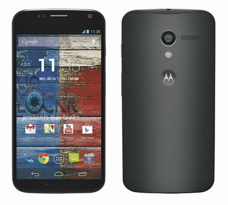 Motorola Moto X en blanco y negro 2