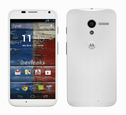 Motorola Moto X en blanco y negro 3