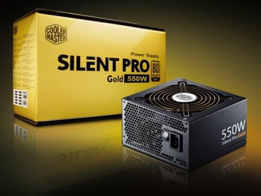 Silent Pro Gold 550W