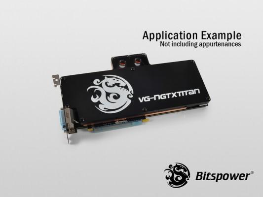 Bitspower para GeForce GTX Titan 3