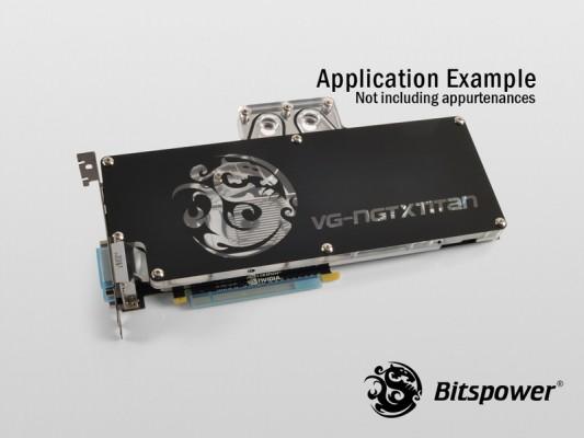 Bitspower para GeForce GTX Titan 4