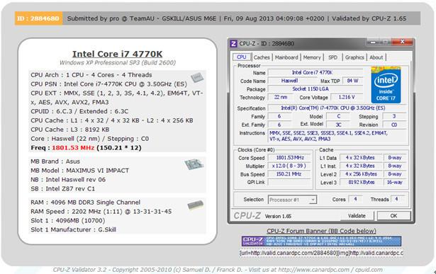Rams 4404 MHz