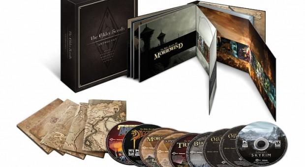 The Elder Scrolls Antología, para el 10 de septiembre