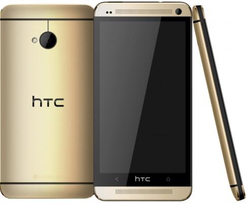 HTC One dorado