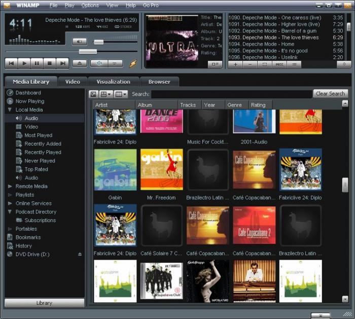 Descargar Reproductor Winamp Clasico Download