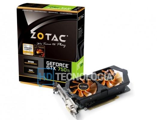 Zotac GTX 750Ti OC logo HD