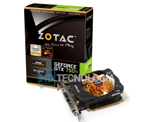 Zotac GTX 750Ti logo hd