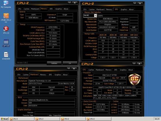 HyperX establece record mundial de Overclocking a 4500MHz