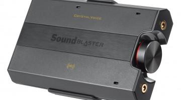 Creative desvela el amplificador Sound Blaster E5