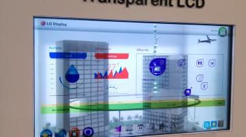 LG presenta por primera vez en Argentina un monitor con pantalla transparente