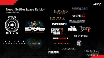 Nuevo AMD Never Settle Space Edition