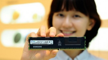 Samsung ya fabrica memorias DDR4 de 64 GB