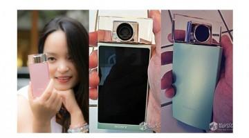 Una Smartphone de Sony Con una cámara Dedicada para selfies