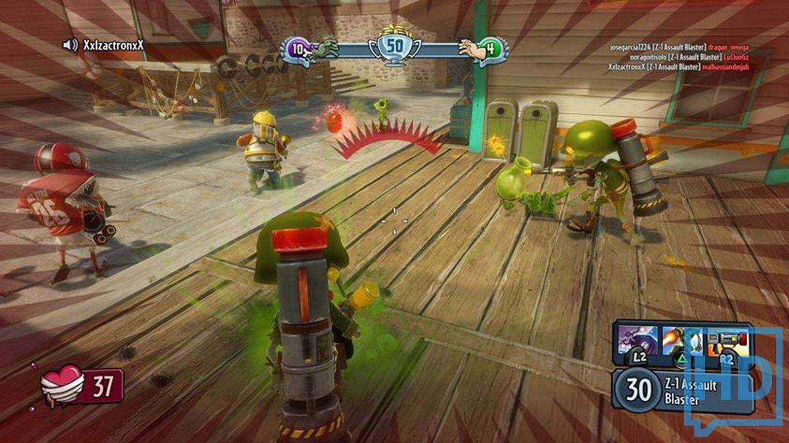 Plants Vs Zombies Garden Warfare Gameplay - nornas.info