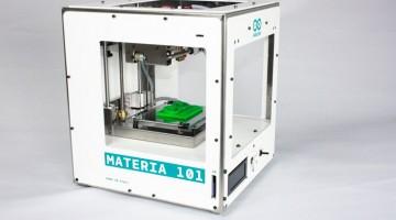 Arduino ya tiene su propia impresora 3D, la Materia 101