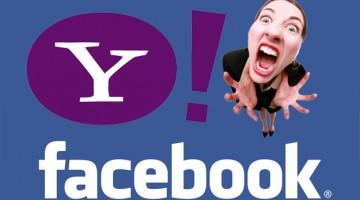 Facebook y Yahoo