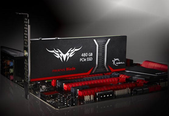 G.Skill anuncia su Phoenix Blade Series 480GB SSD PCIe-3