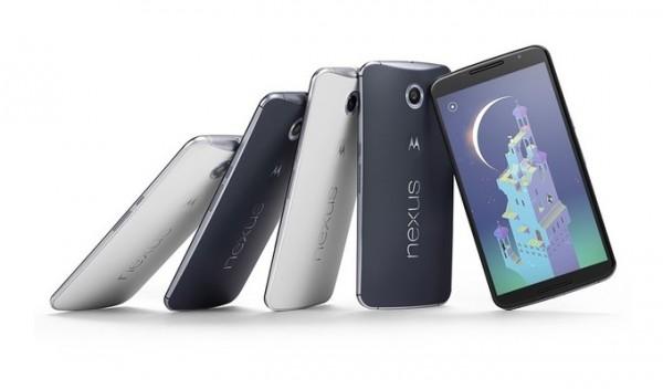 Google Nexus 6, con pantalla de 6 pulgadas, Anunciado