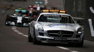 Coche de seguridad virtual esta siendo probado por la Fórmula 1