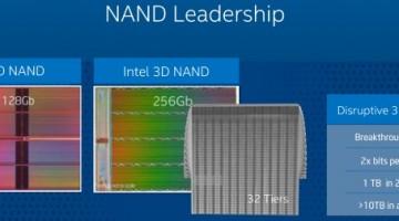 Intel 3D NAND dara lugar a SSD de 10 TB dentro de unos años