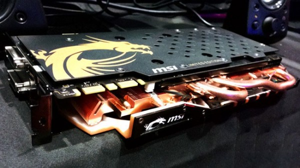 MSI presenta la GeForce GTX 970 Gold Limited Edition