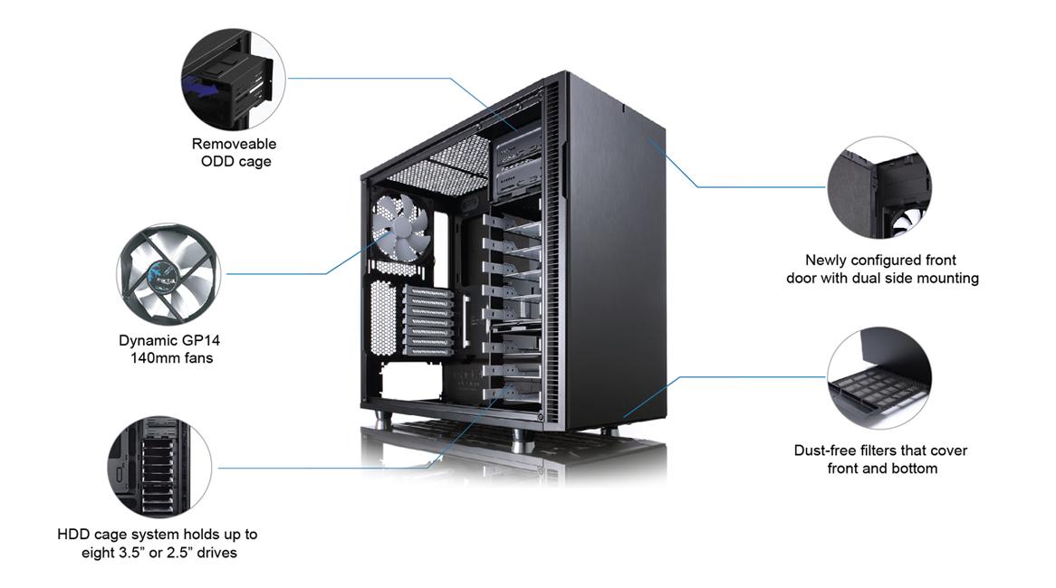 Nuevo Gabinete Fractal Design Define R5 , el cual está destinado al ...: hd-tecnologia.com/nuevo-gabinete-fractal-design-define-r5