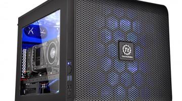 Thermaltake lanza el gabinete Core V21 con formato Micro-ATX